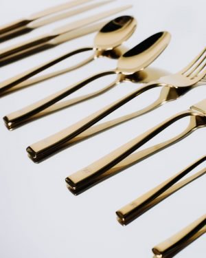 cutlery gold custom