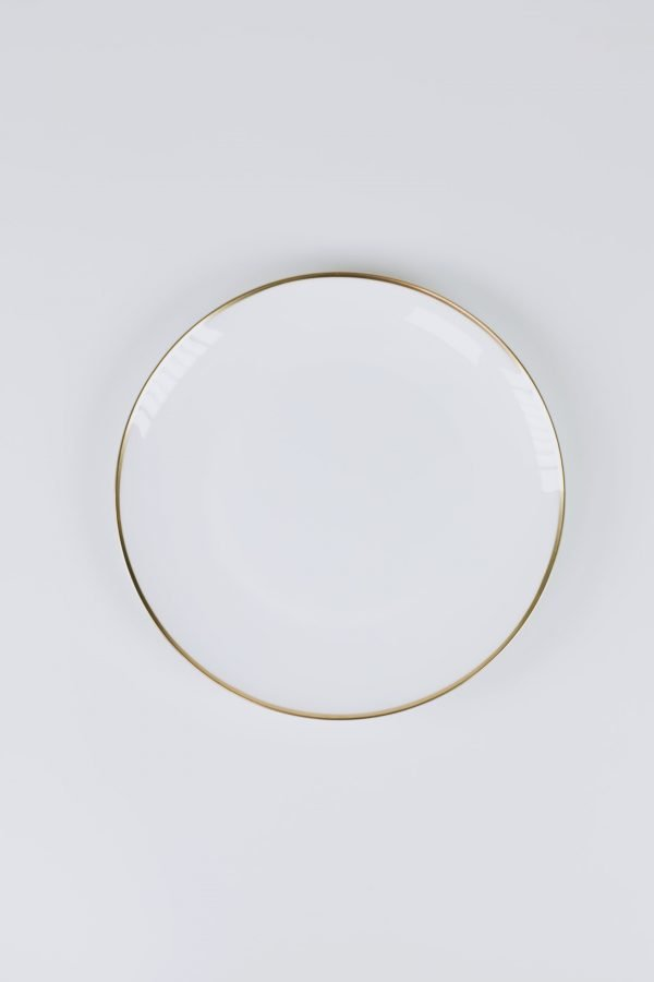dinnerware gold entree