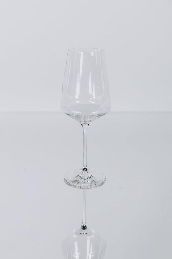 glassware modern whitewine