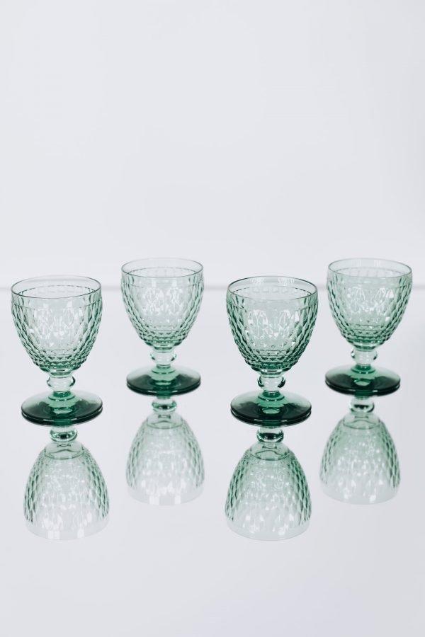 glassware villeroy green